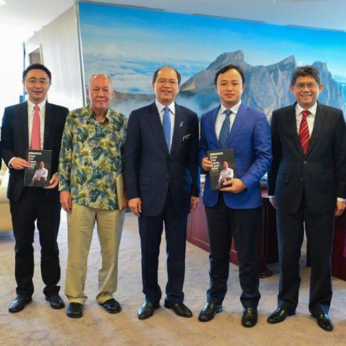 Kunjungan Hormat oleh Huawei Rotating CEO ke Kementerian Sains, Teknologi dan Inovasi Malaysia (MOSTI)