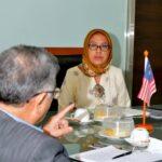 30 JUN 2020 Kunjungan hormat Scientific Counselor 5
