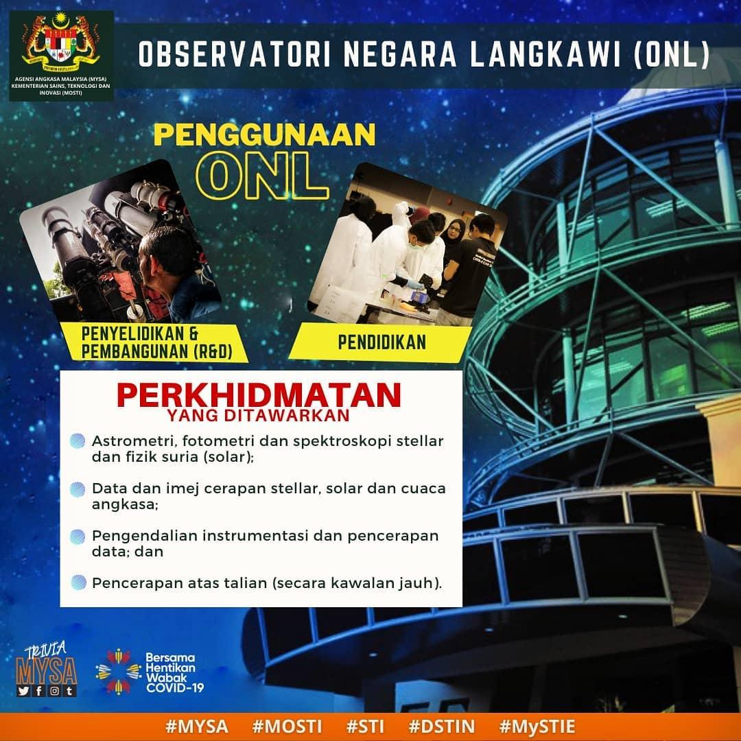 Observation negara Langkawi ONL I