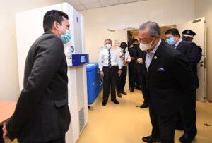 Lawatan YAB Perdana Menteri ke Institut Kanser Negara IKN 6