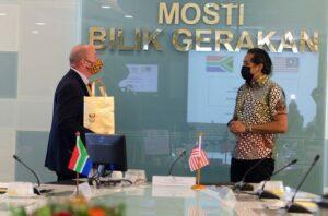 Mesyuarat YB Menteri Bersama Pesuruhjaya Tinggi Afrika 1
