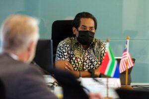 Mesyuarat YB Menteri Bersama Pesuruhjaya Tinggi Afrika 3