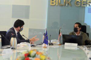 Kunjungan hormat daripada TYT. Michalis Rokas Duta Besar Kesatuan Eropah di Malaysia 1