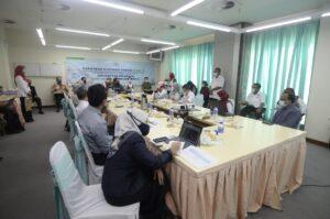 Lawatan kerja ke Pusat Pemberian Vaksin PPV Hospital Sultanah Aminah Johor Bahru 2