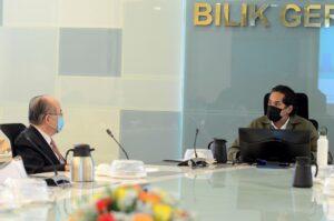 Mesyuarat Penyelarasan PICK bersama Timbalan Ketua Menteri Sarawak 1